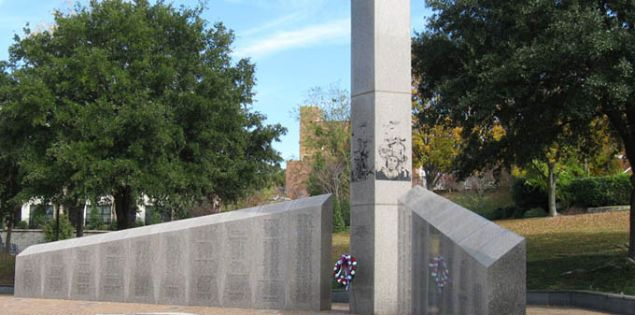 veterans memorials - south carolina