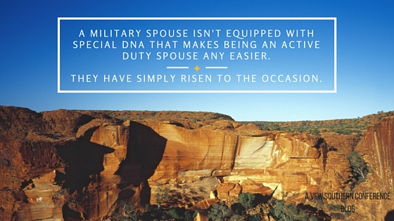military spouse dna quote