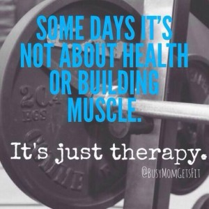 get fit - exercise is therapy