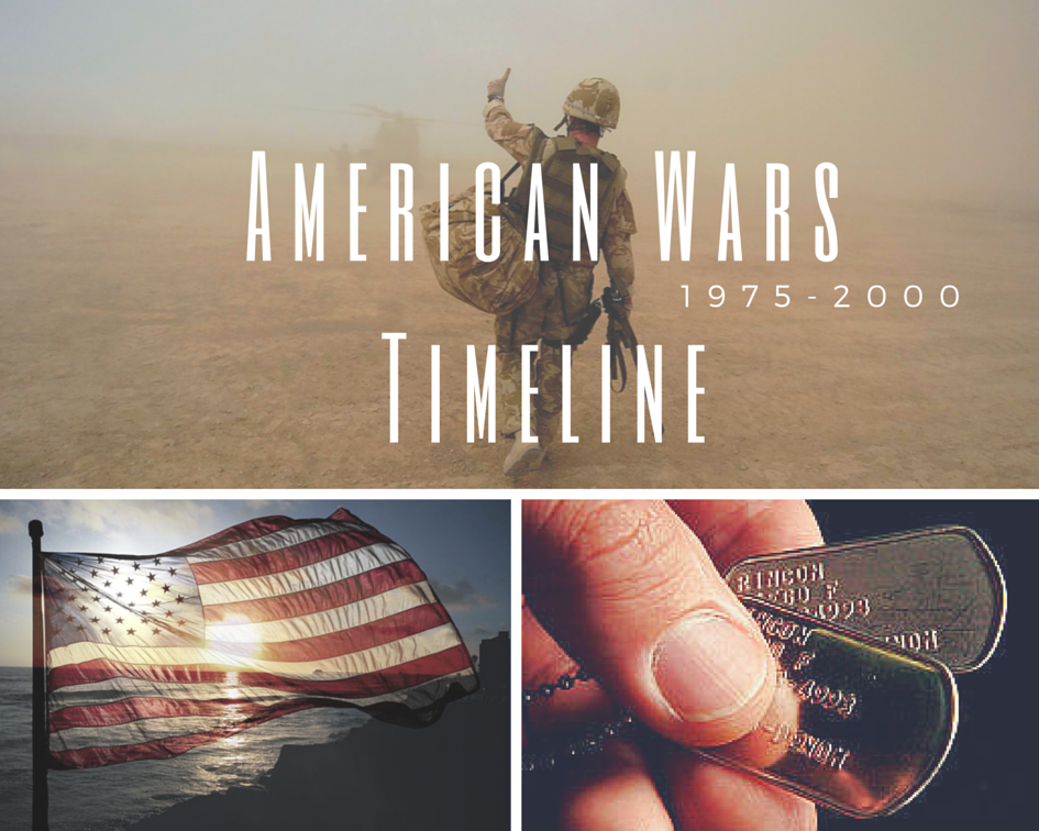 Infographic: American War Timeline (1975-2000)