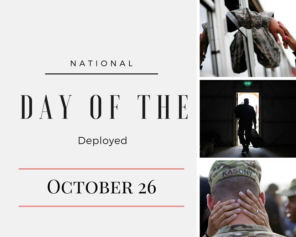 The National Day of the Deployed #DayoftheDeployed