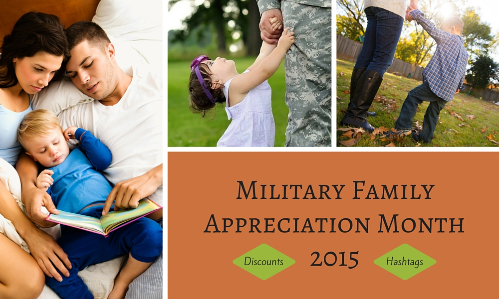 Shout Out! Military Family Appreciation Month 2015