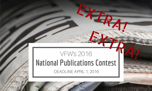 VFW's 2016 National Publications Contest