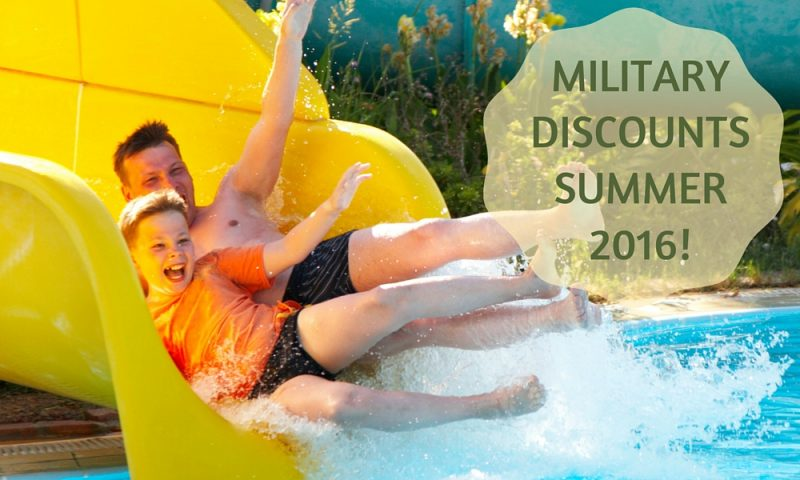 Take Advantage of these Military Discounts This Summer!